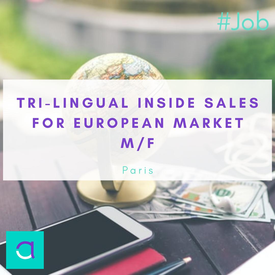 Tri-lingual Inside Sales