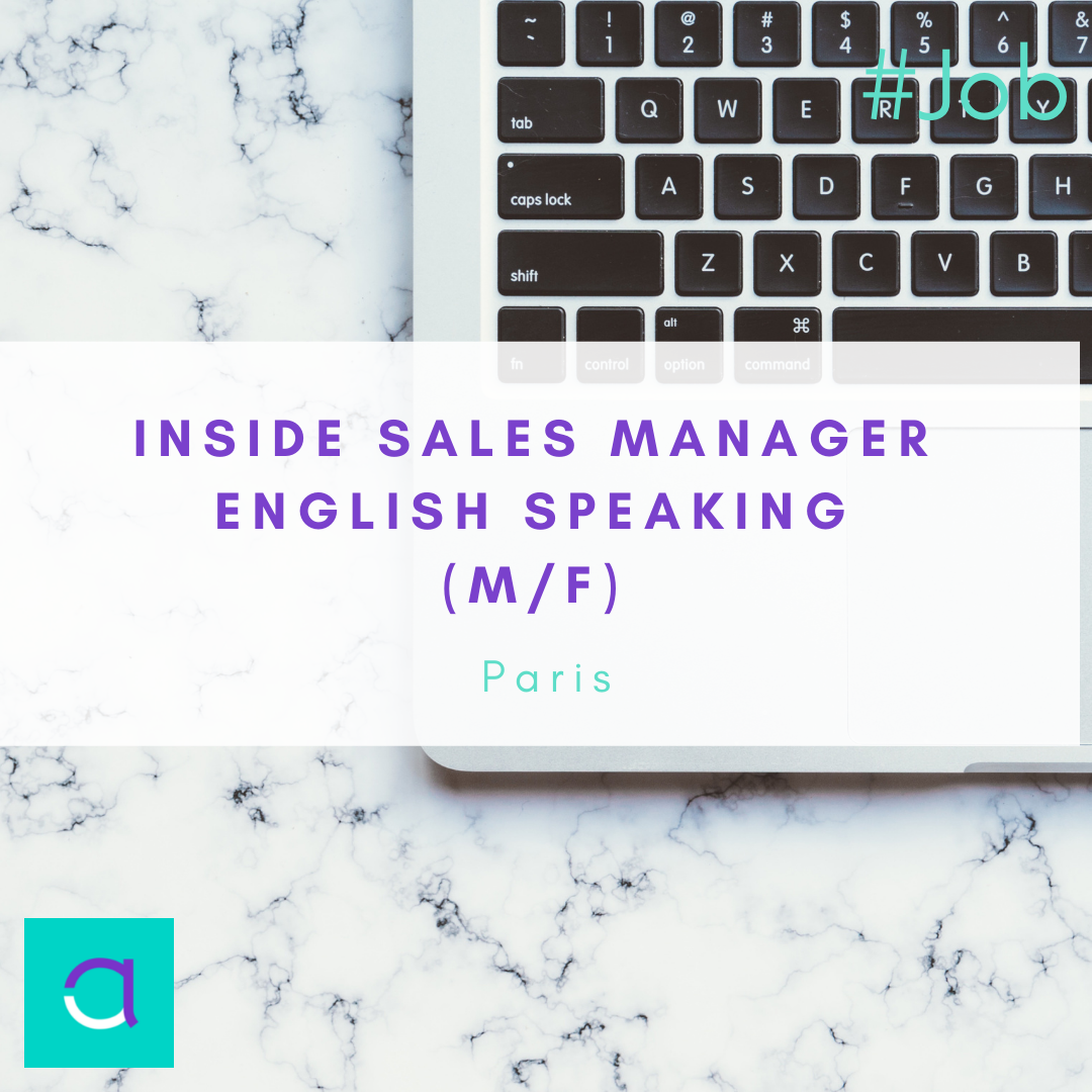 Inside Sales Manager English speaking