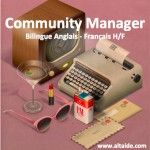 Community Manager Bilingue Anglais