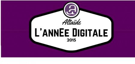 [Infographie] : Les chiffres d'une année digitale chez Altaïde