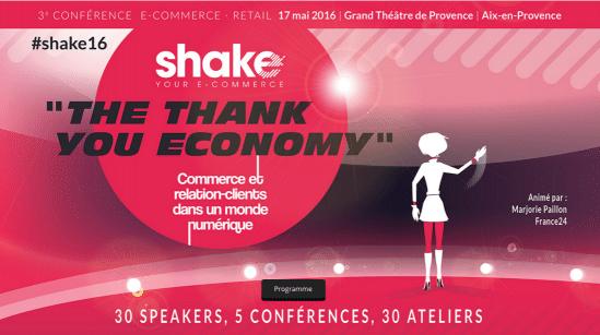 Shake your e-commerce : Aix-en-Provence le mardi 17 mai 2016