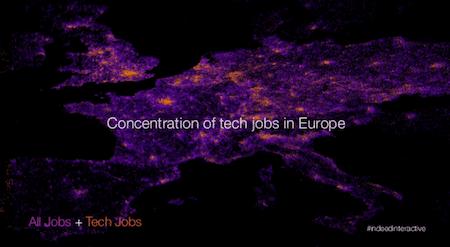 Pénurie européenne des profils pour le secteur des technologies