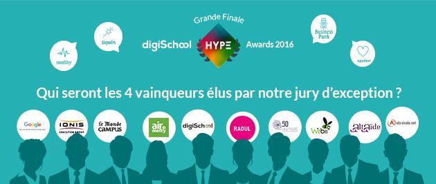 DigiSchool HYPE Awards : le concours des jeunes talents
