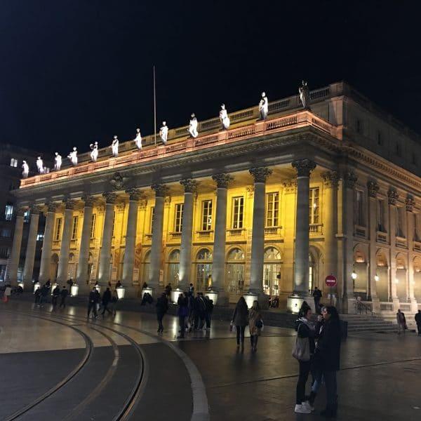 Bordeaux grand theatre carré