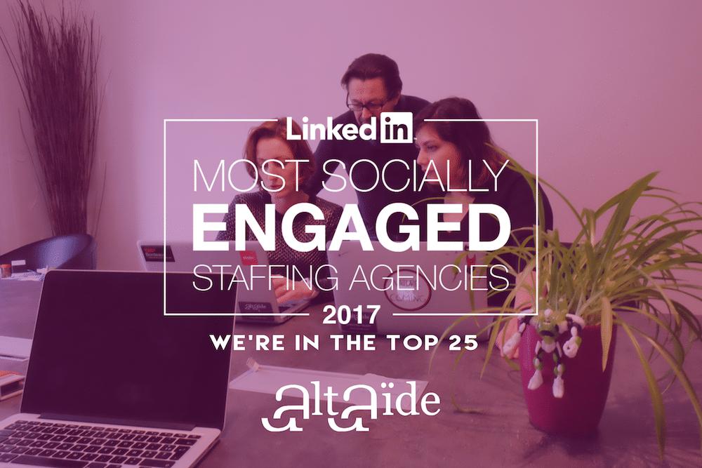 Linkedin Most Socially Engaged