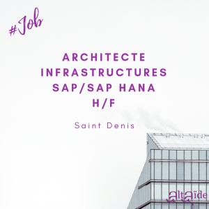 Architecte Infrastructures SAP