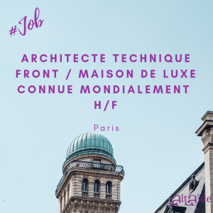 ARCHITECTE TECHNIQUE FRONT