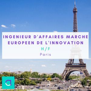 Ingénieur d'Affaires marché Européen de l'innovation