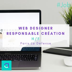 Webdesigner – Responsable Création