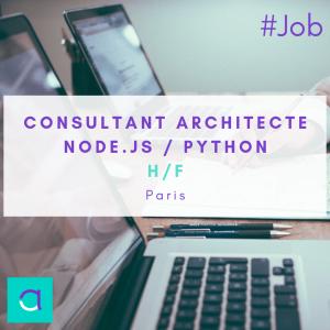 Consultant architecte node.js