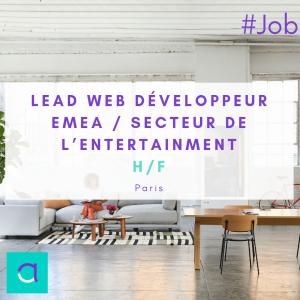 Lead Web Développeur