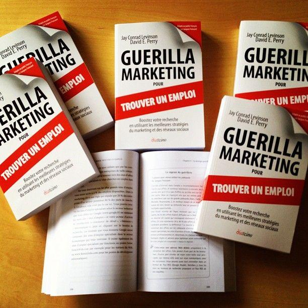 Recrutement Guerilla Marketing pour trouver un emploi