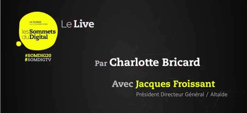 interview live de Jacques Froissant, CEO de Altaïde