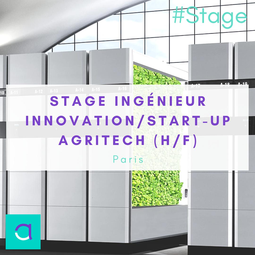 stage ingénieur innovation