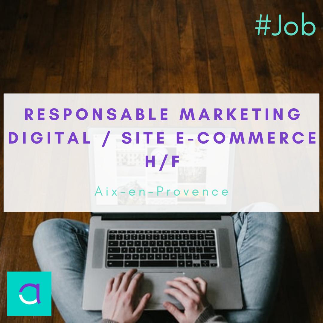 Responsable Marketing Digital