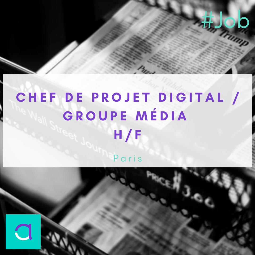 Chef de Projet Digital