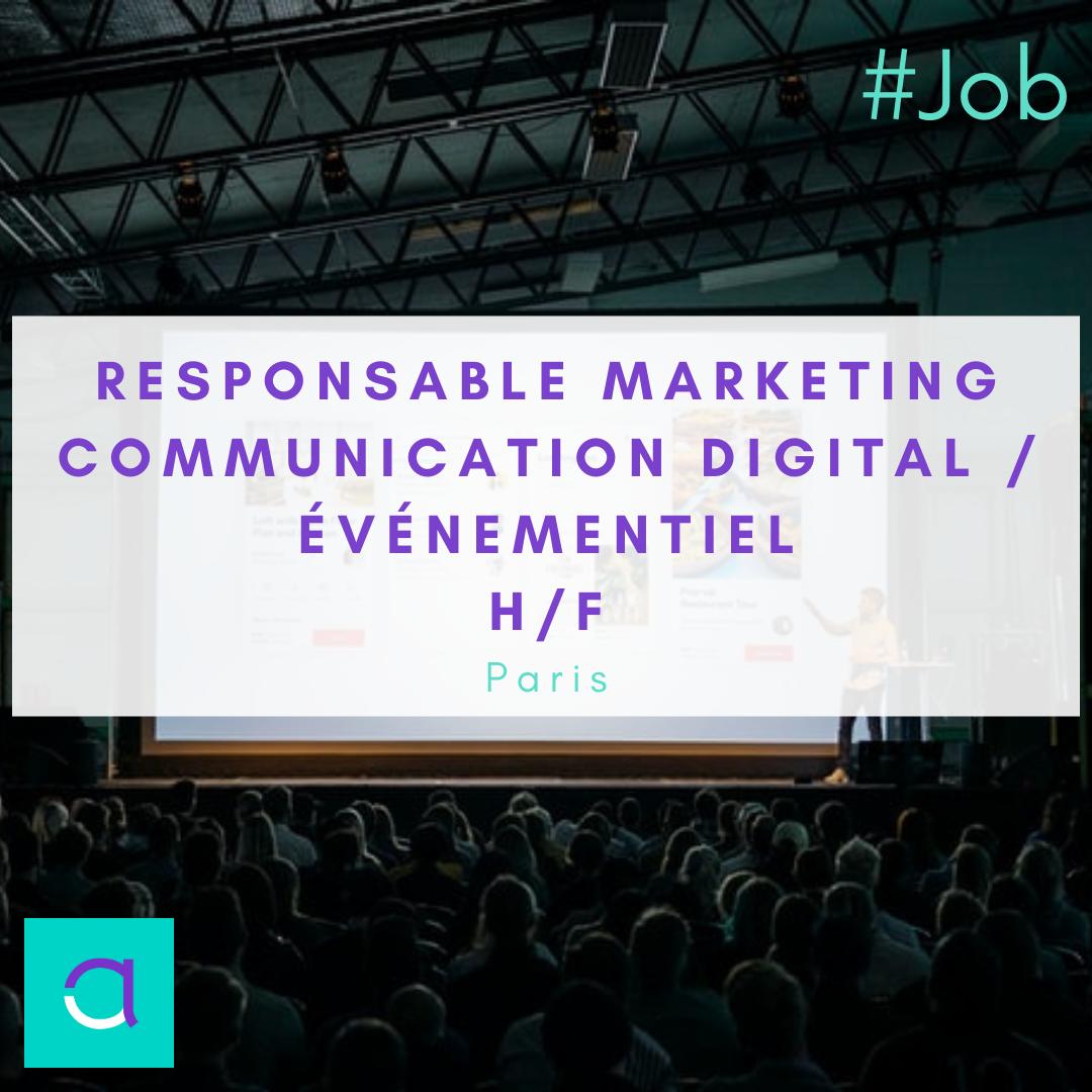 Responsable Marketing Communication Digital