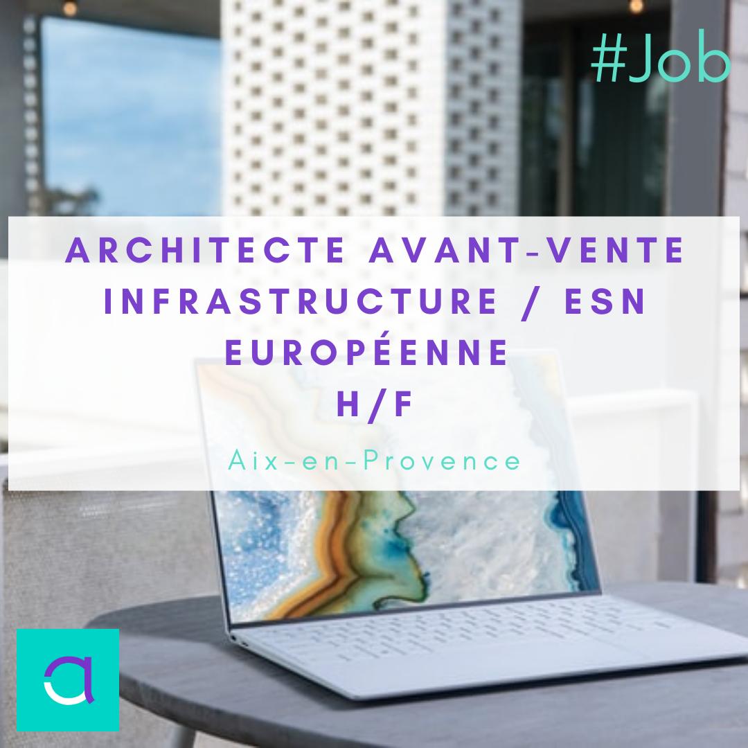 Architecte Avant-vente Infrastructure