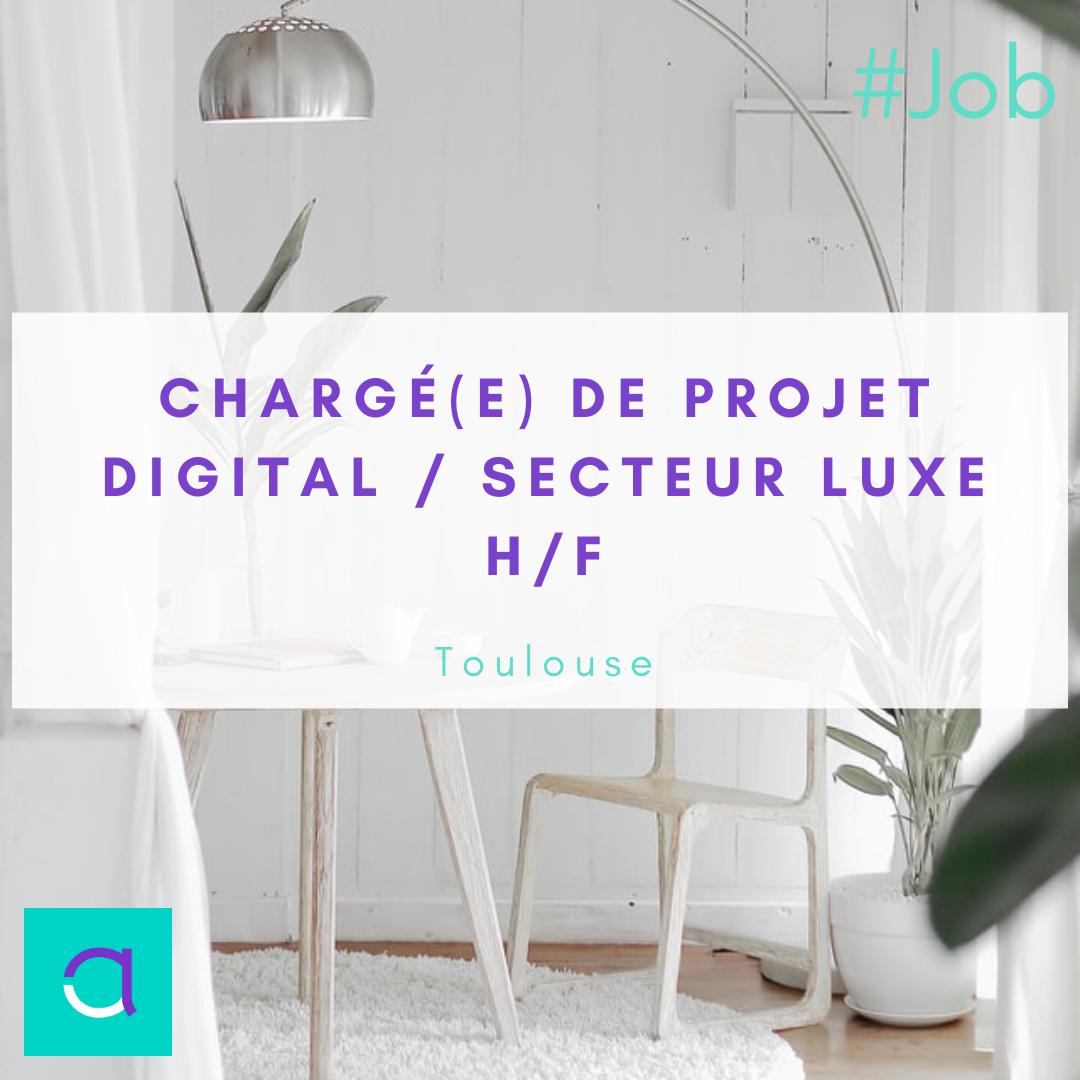 Chargé(e) de Projet Digital
