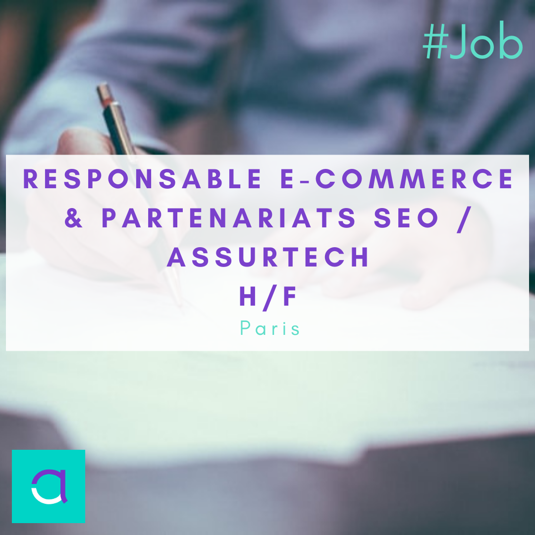 Responsable E-commerce & Partenariats SEO