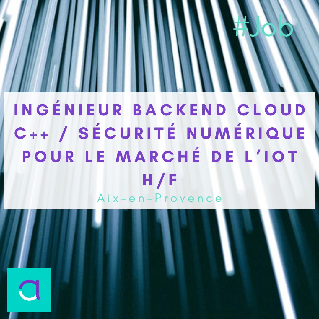 Ingénieur Backend Cloud