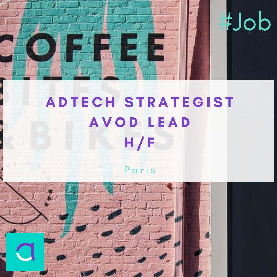 AdTech Strategist AVOD Lead