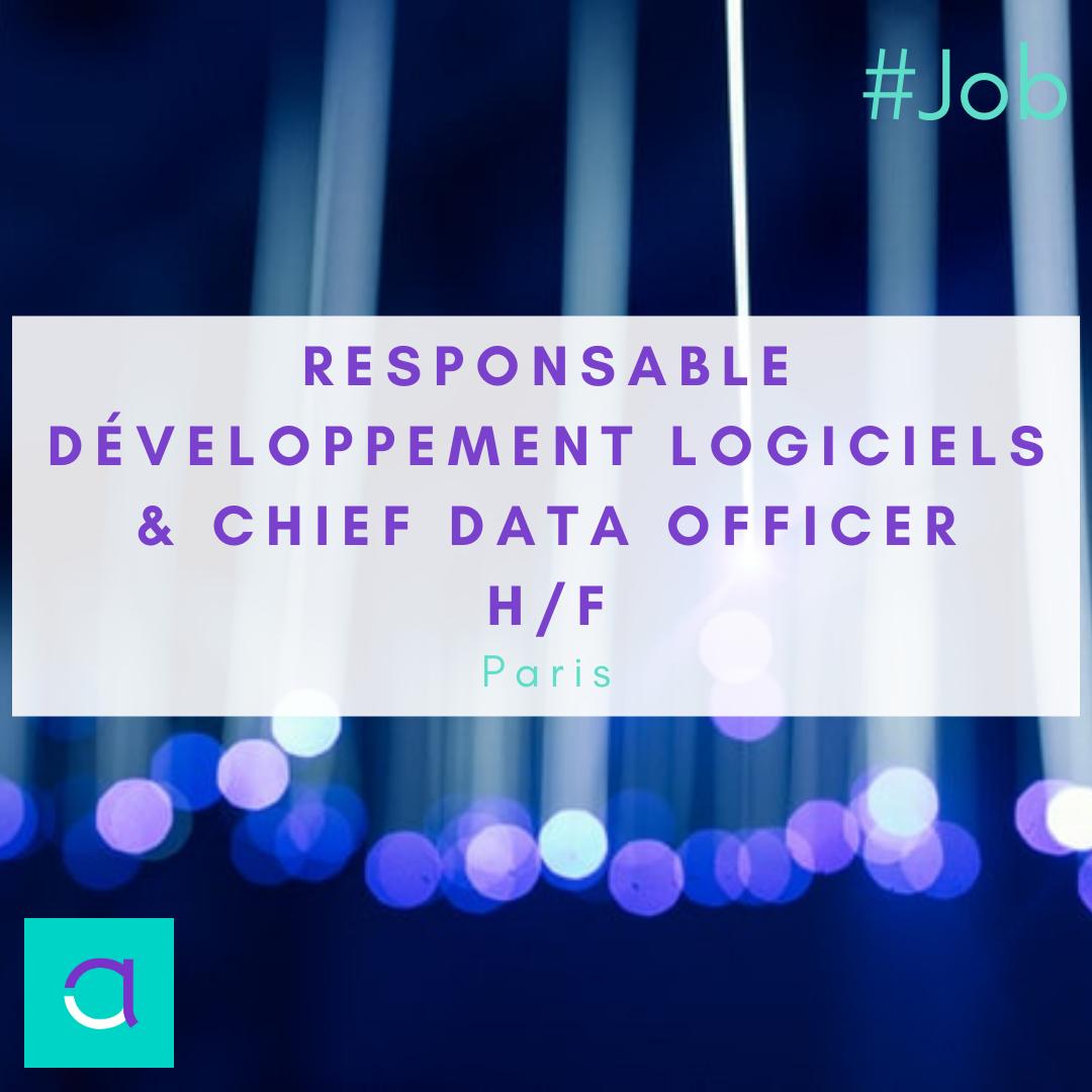 Responsable développement logiciels & chief data officer