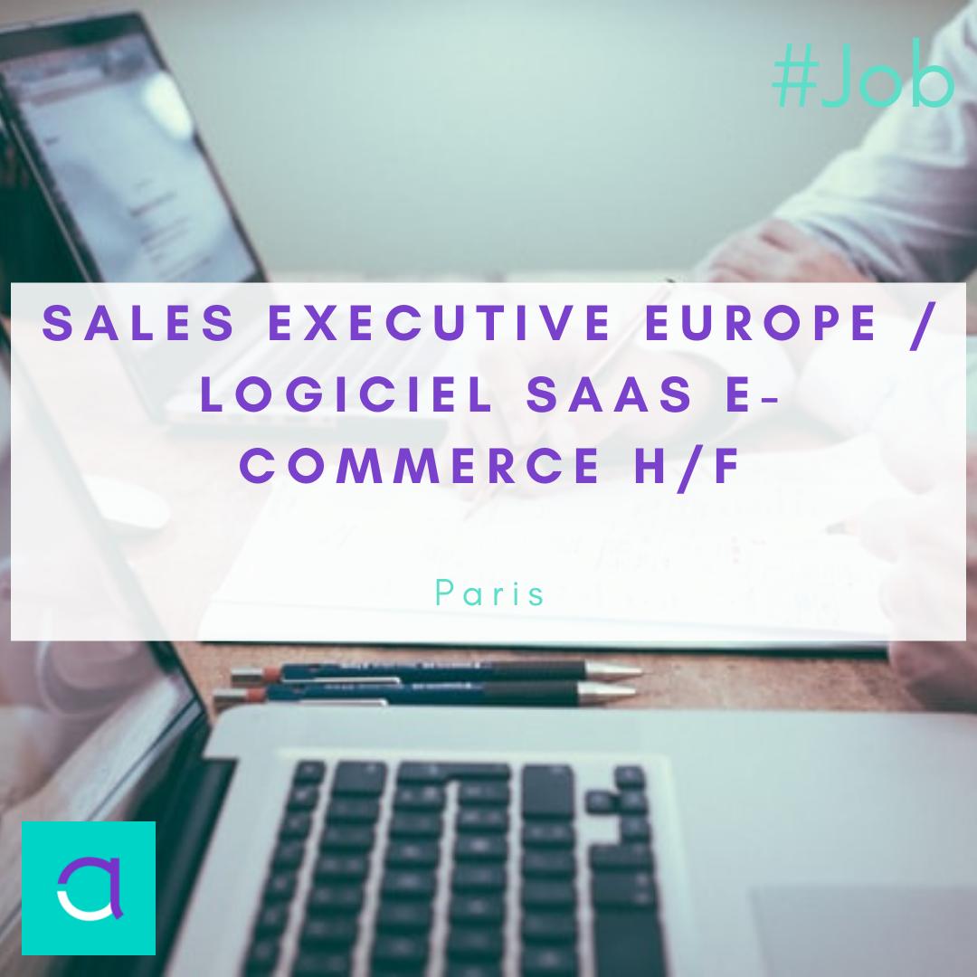 Sales Executive Europe / Logiciel Saas e-Commerce (H/F)