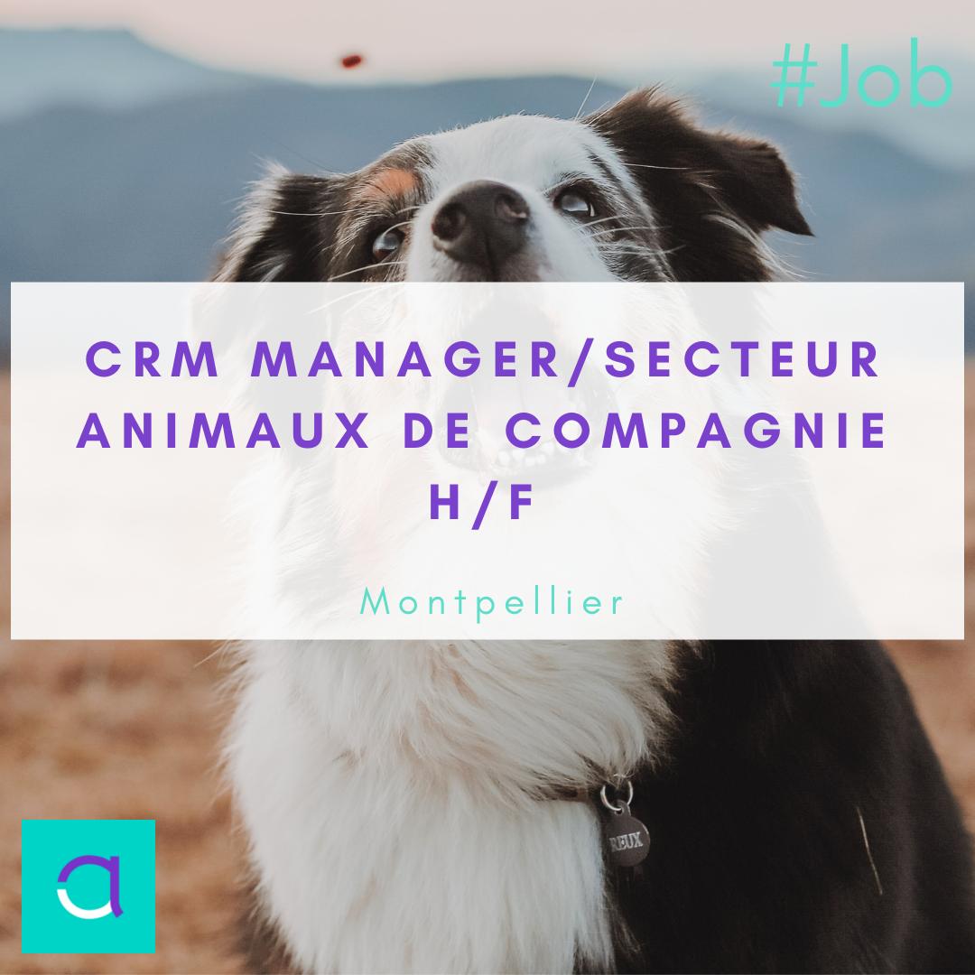 CRM Manager / Secteur Animaux de compagnie (H/F)