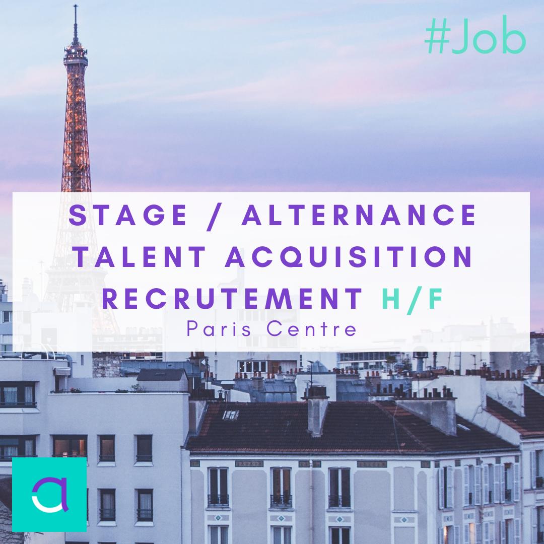 Stage / Alternance Talent Acquisition