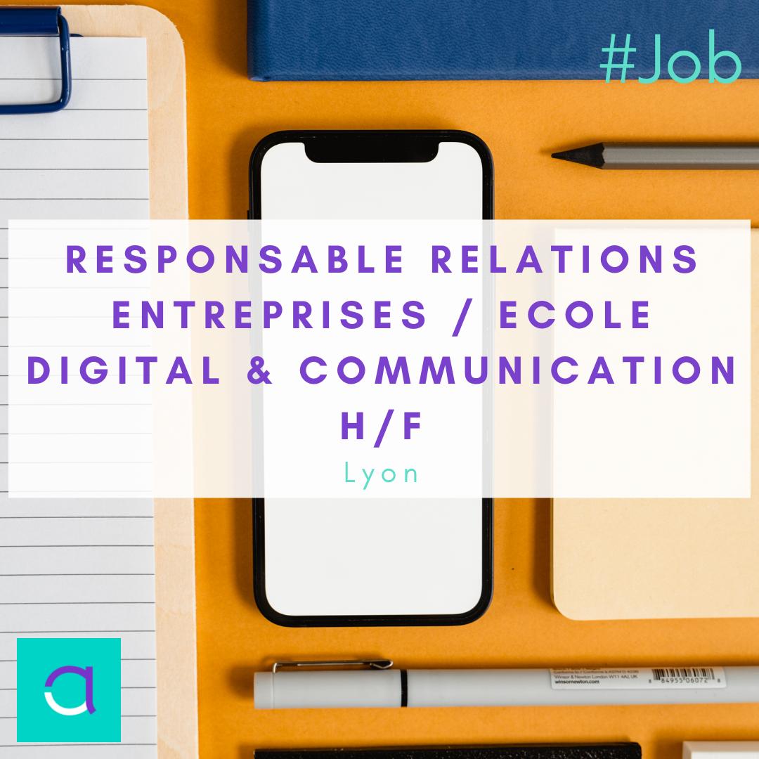 Responsable Relations Entreprises
