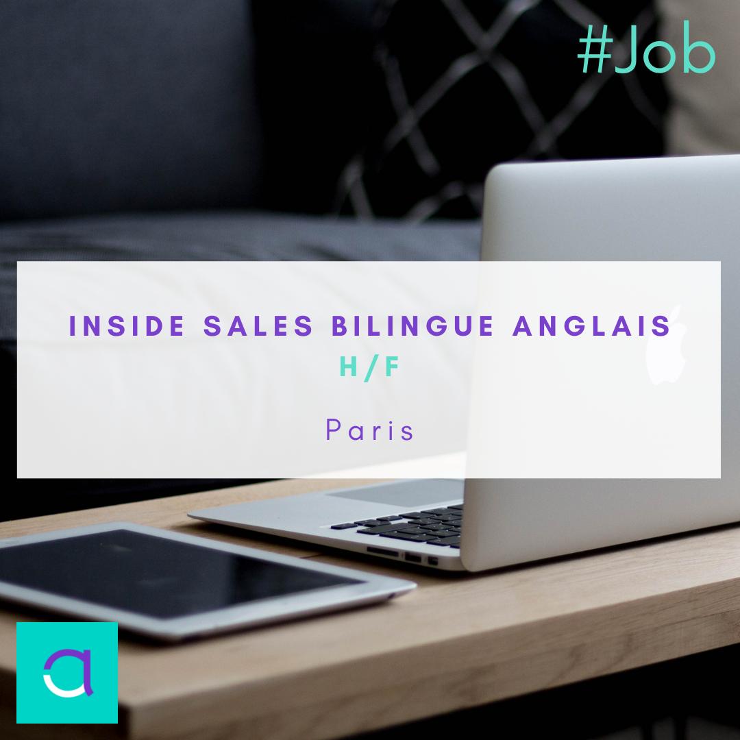 Inside Sales Bilingue Anglais