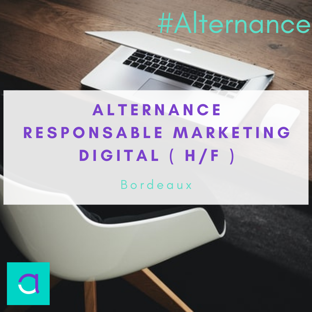 Alternance Responsable Marketing Digital