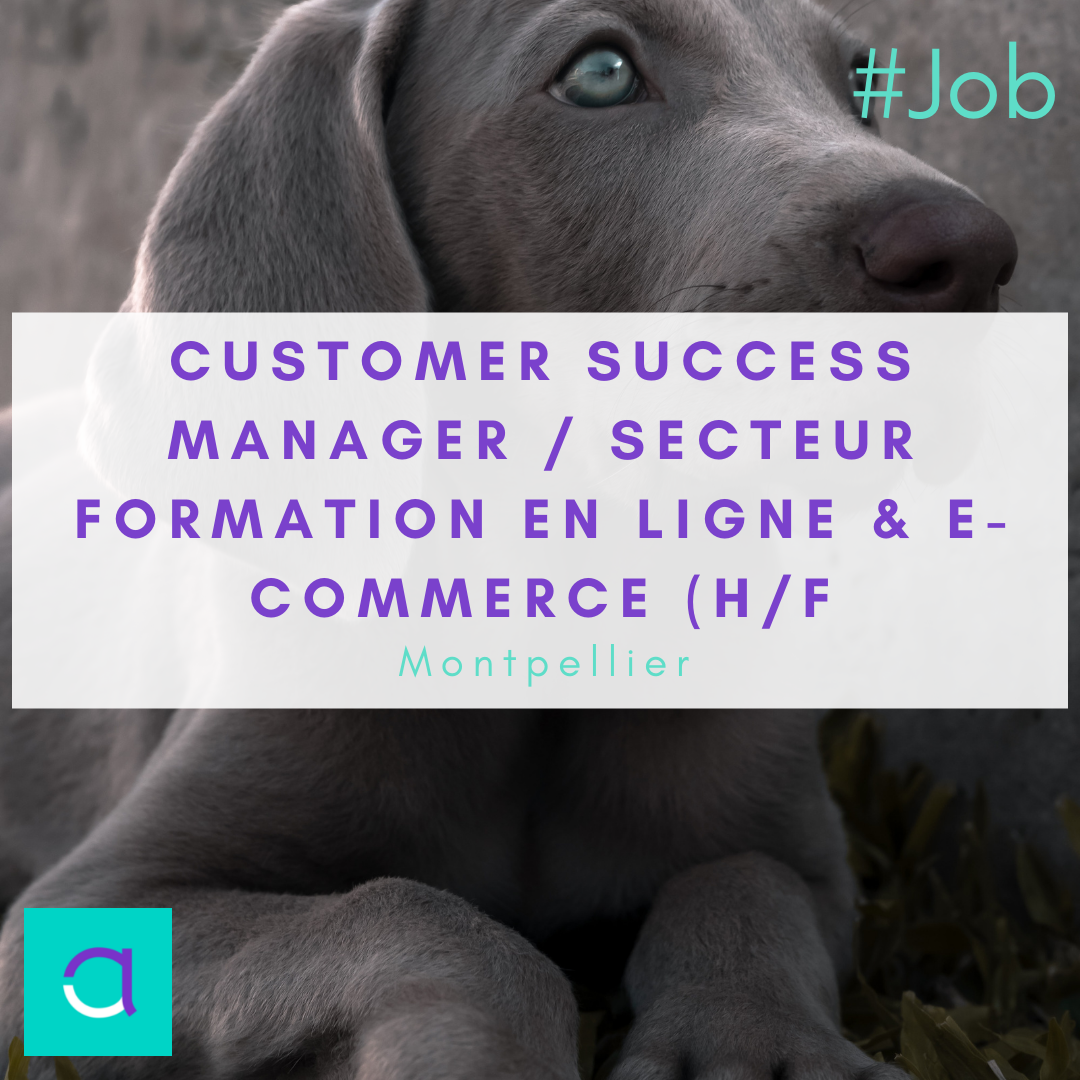 Customer Success Manager / Secteur Formation en Ligne & e-Commerce