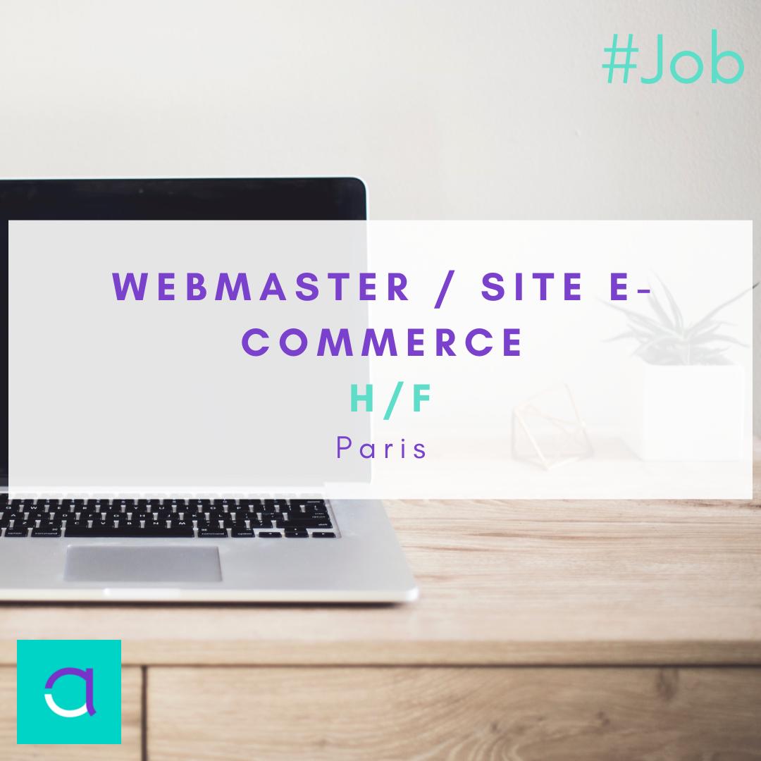 Webmaster / Site E-Commerce