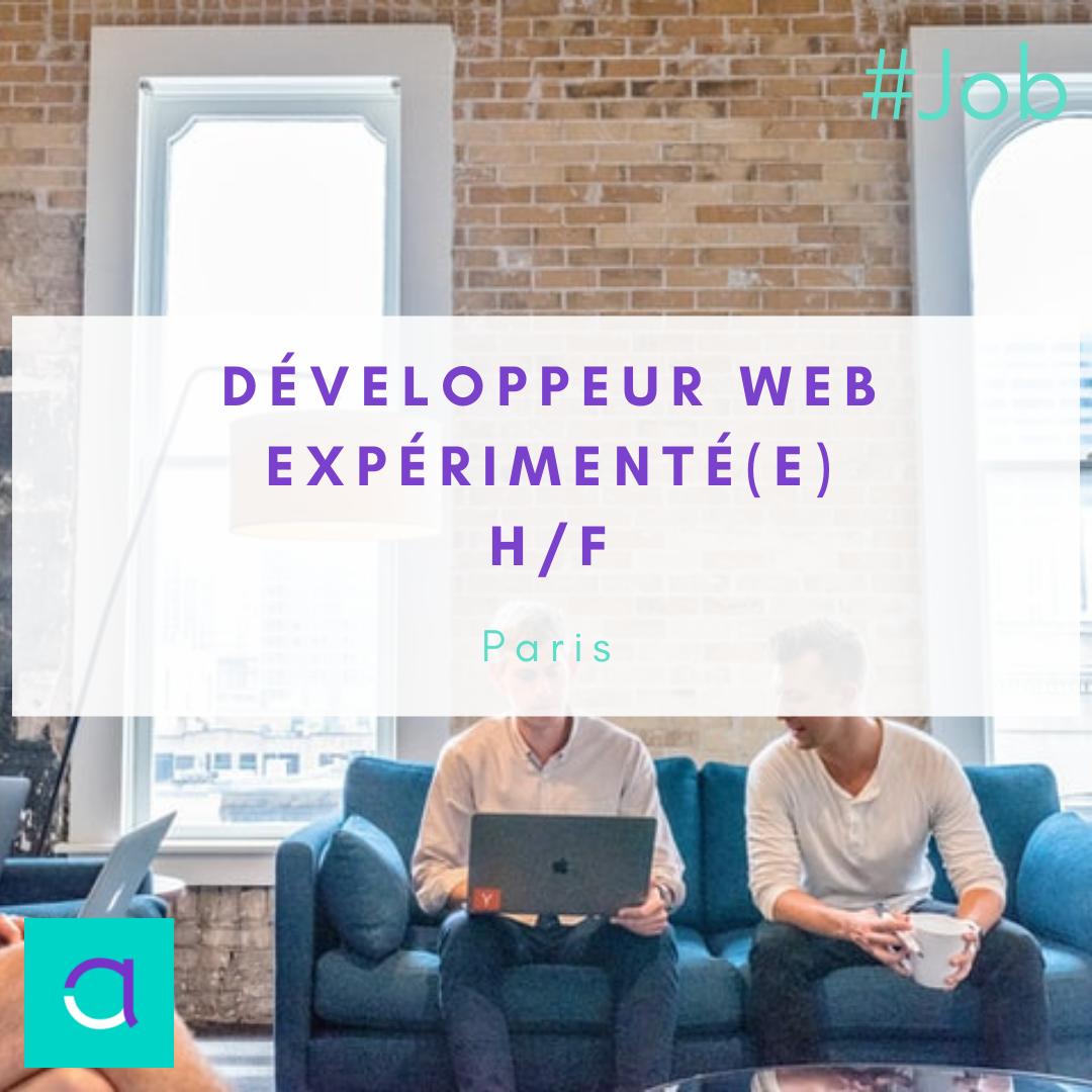 Développeur Web Expérimenté(e) (H/F)