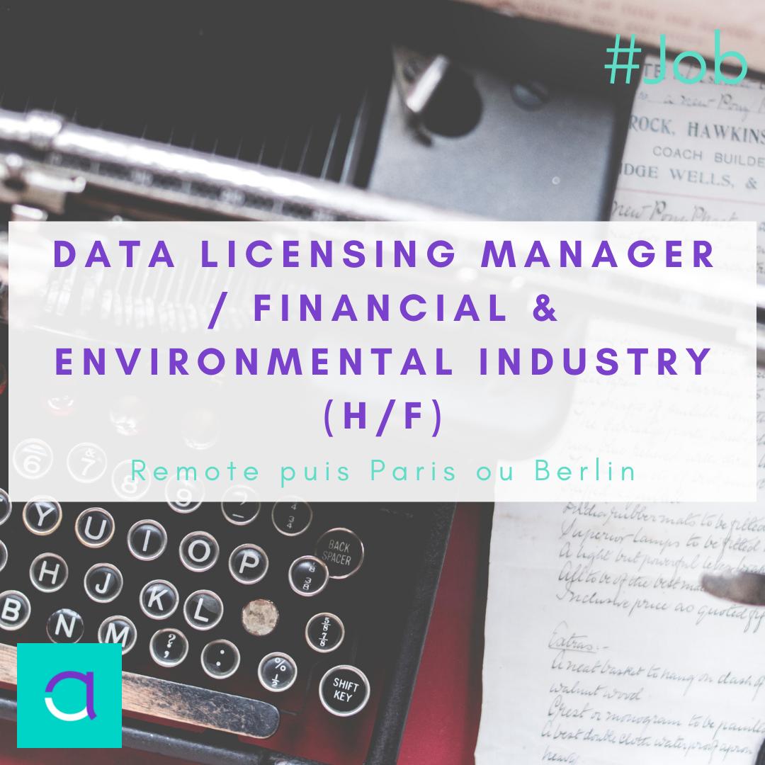 Data Licensing Manager