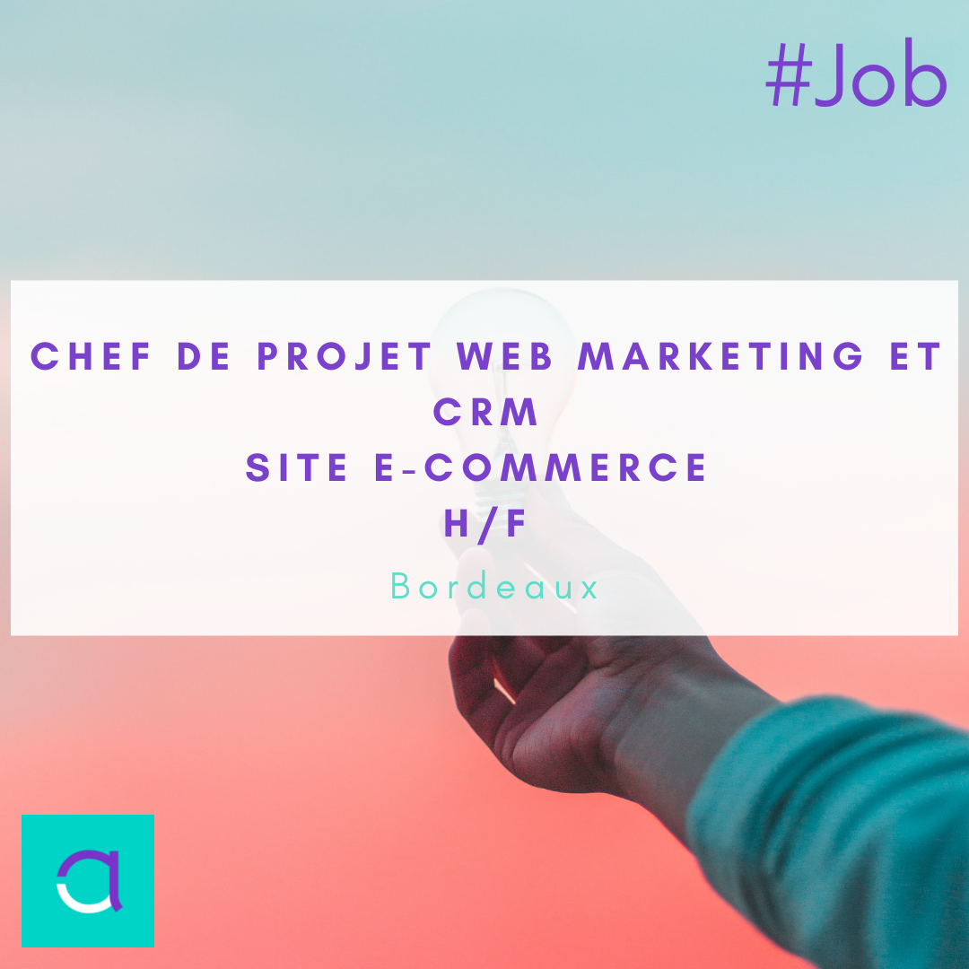 Chef de projet web marketing / CRM