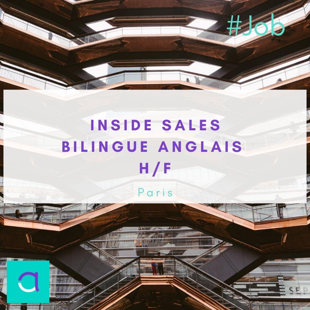Offre d'emploi Inside Sales