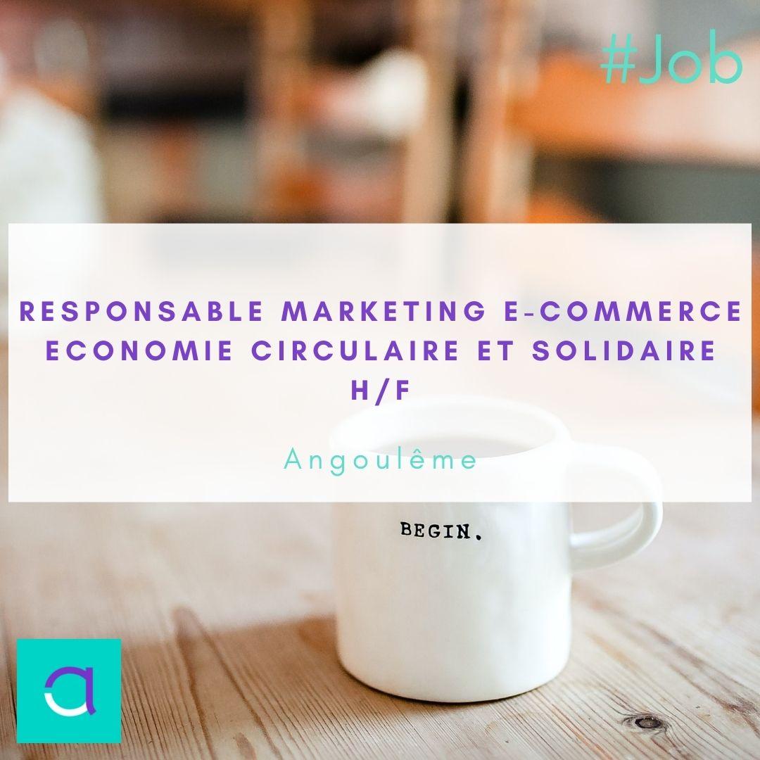 Offre d'emploi Responsable Marketing e-Commerce