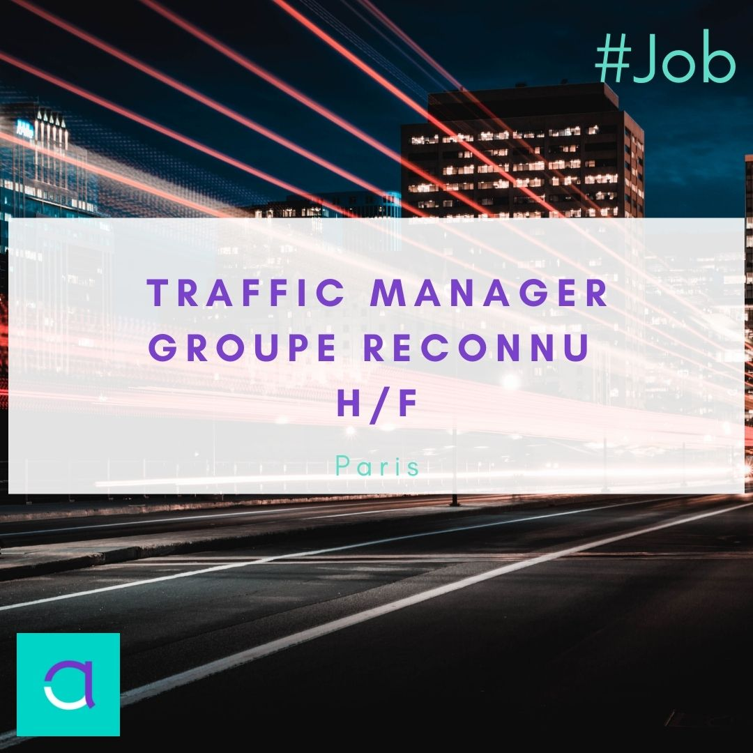 Offre d'emploi Traffic Manager