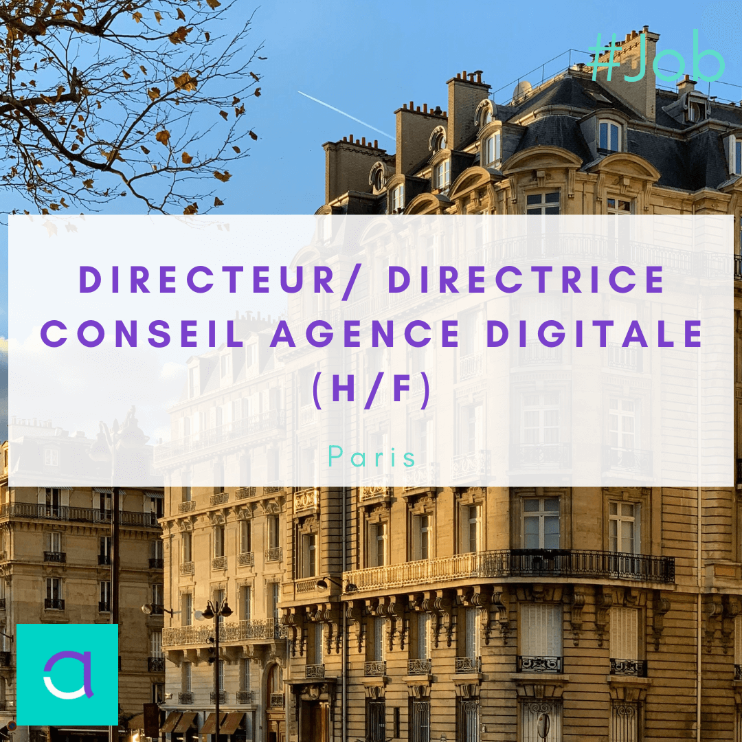 Directeur/ Directrice conseil Agence Digitale (H/F)