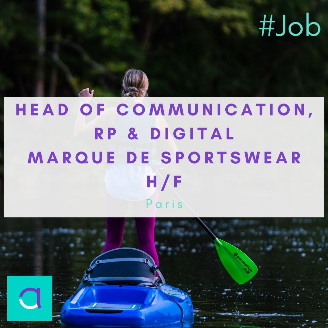 Offre d'emploi - Head of Communication, RP & Digital