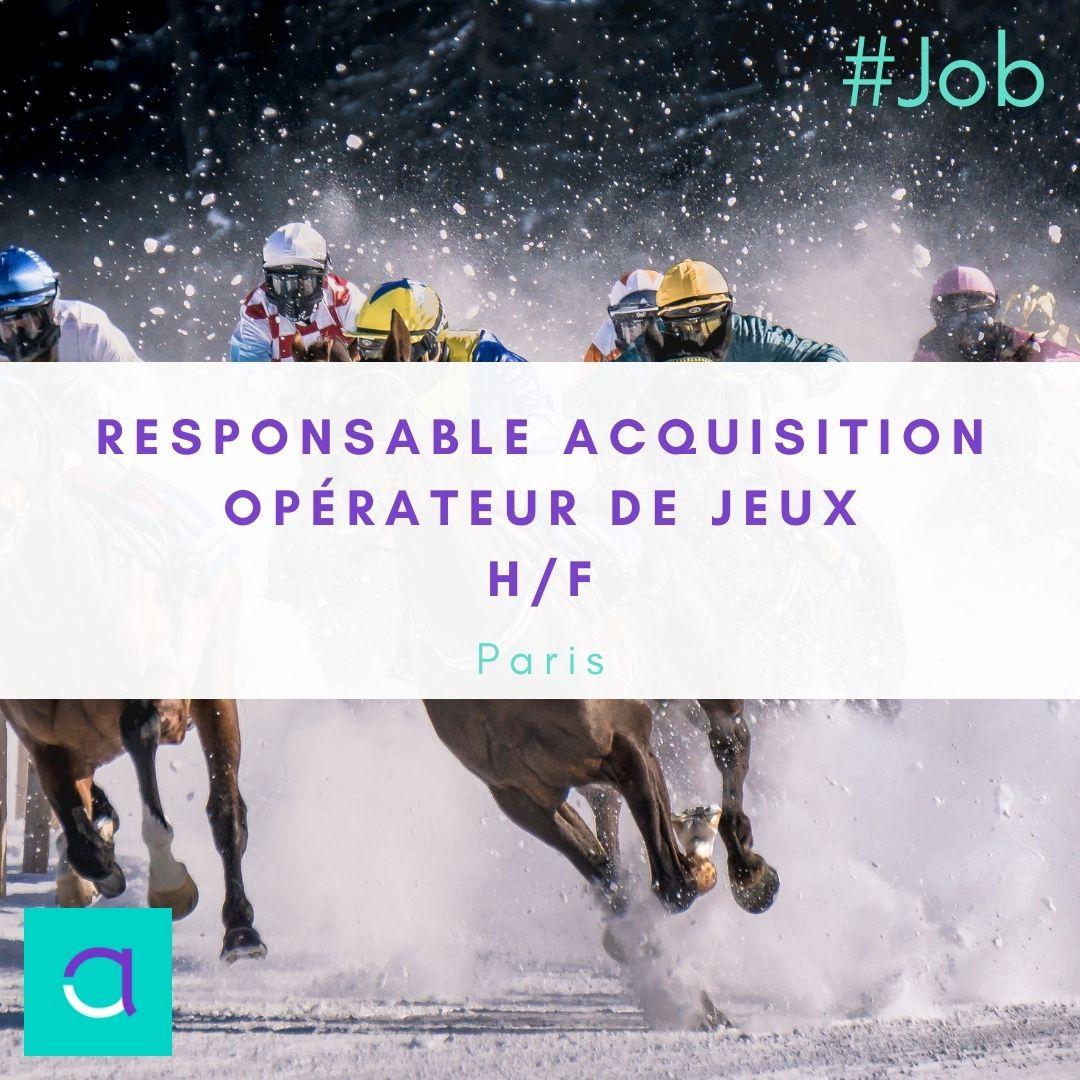 Offre d'emploi Responsable Acquisition